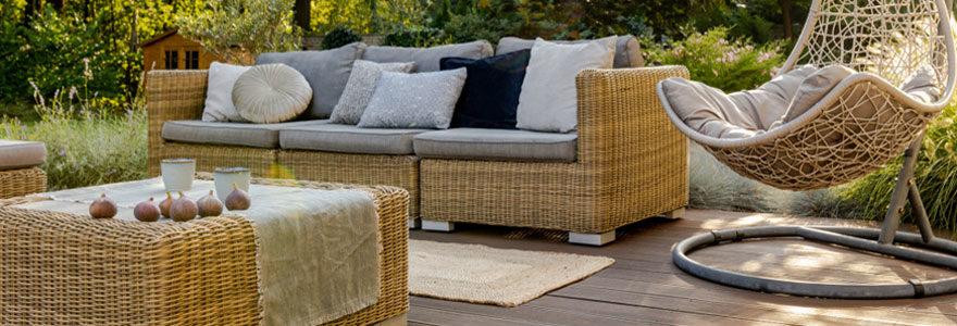 Les équipements mobiliers de jardin